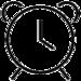 Icon eines Weckers