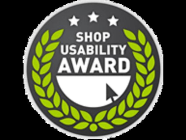 Das Logo des Shop Usability Awards