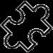 Icon eines Puzzleteils