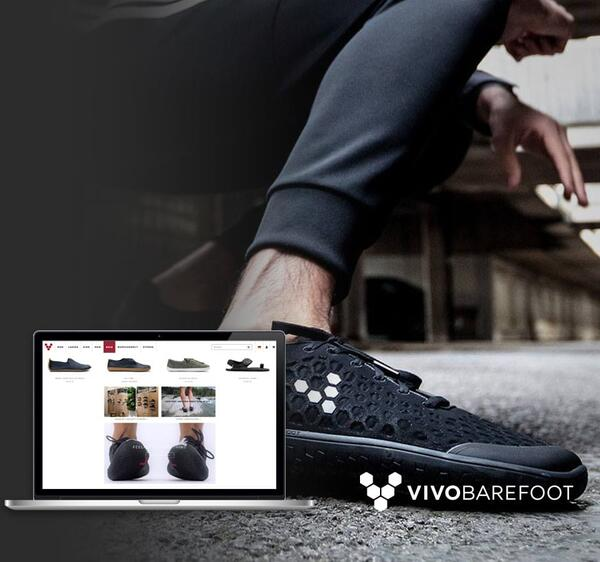 E-Commerce und Mode powered by Vivobarefoot