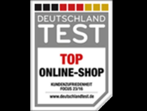 Das Logo des Top Online-Shop Tests von Focus Online