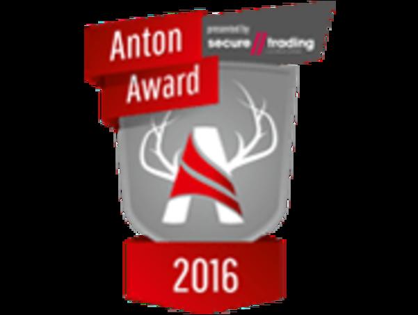 Das Logo des Anton Awards 2016