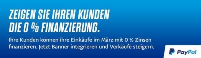 Banner Wahnzinswochen PayPal