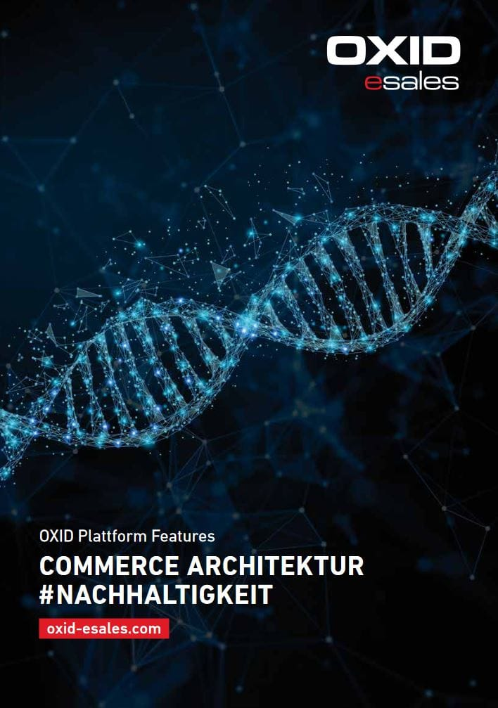 Feature Broschüre Commerce Architecture