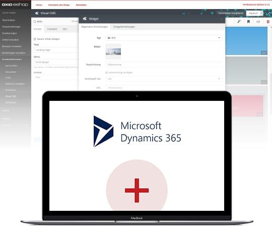 Der OXID eShop in Kombination mit Microsoft Dynamics.