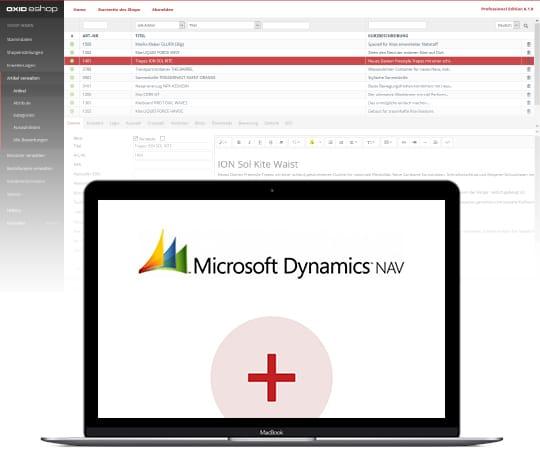 Der OXID eShop in Kombination mit Microsoft NAV