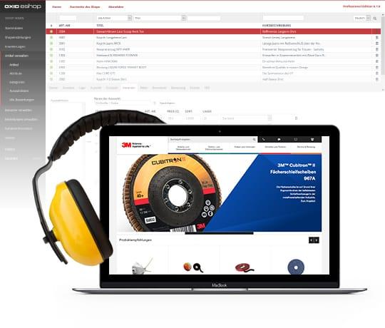 Die Enterprise Edition des OXID eShops ist das Kraftpaket im B2B Handel.
