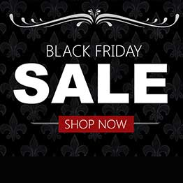 Text: Black Friday Sale. Shop now.